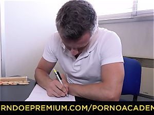 porn ACADEMIE - huge-boobed Georgie Lyall smashes principal