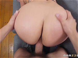 Cristal Caraballo pulverized in her latina pussyhole