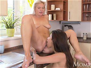 Dane Jones Pretty lesbians loving vulva have fun