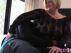poked granny finger-tickled