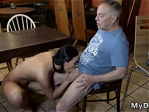 Pretty nubile hd Can you trust your girlchum leaving her alone with your father?