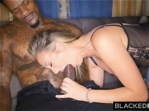 BLACKEDRAW Out Of Town girlfriend Cheats With bbc After fighting With bf