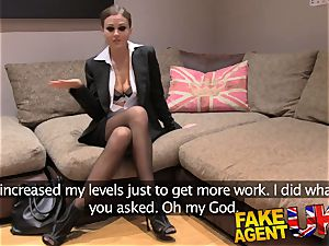 fake Agent UK european stunners peachy donk frigged and tears up