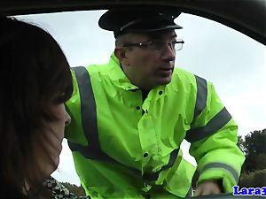 Caught wanking mature ravages patrol cop