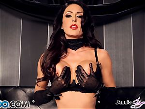 Jessica Jaymes frolicking with her handsome cunt pie