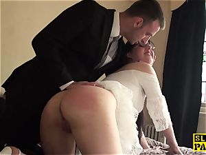 brit domination & submission marionette flagellated and spanked