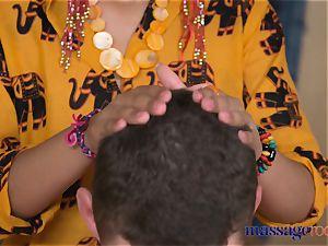 massage apartments hot Thai masseuse takes hard jizz-shotgun