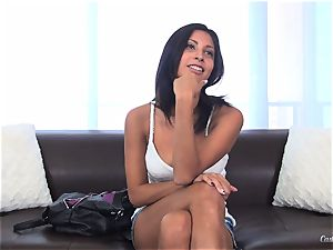 Jade Jantzen poking like a professional at her audition